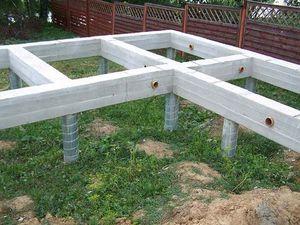 Достоинства и недостатки свайных конструкций