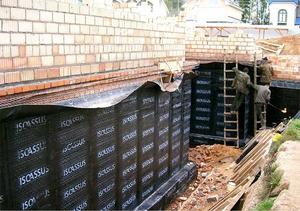 Гидроизоляция фудамента технониколь гидроизоляция наружных стен между секциями