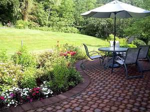 Изготовление садовых дорожек из плитки