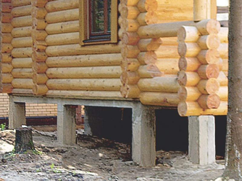 Сколько стоит построить дом из бревна с фундаментом своими руками