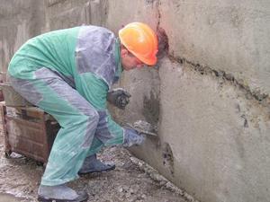 Как заделать трещины в бетоне своими руками