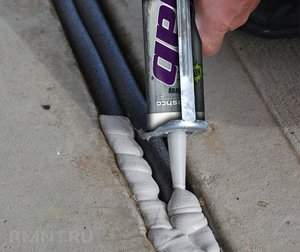 Ремонт бетона, контактирующего с водой